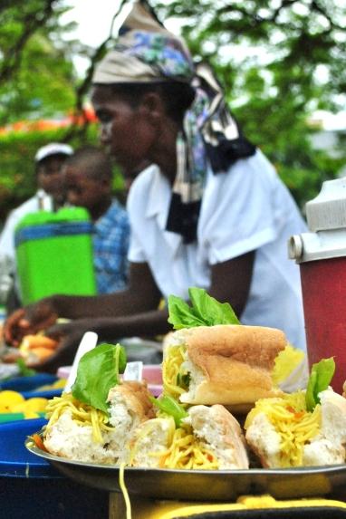 Sandwich Seller in Diego