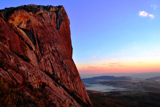 Sunrise near Peak Boby