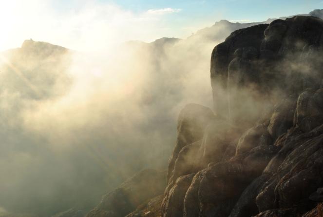 Fog on Peak Boby