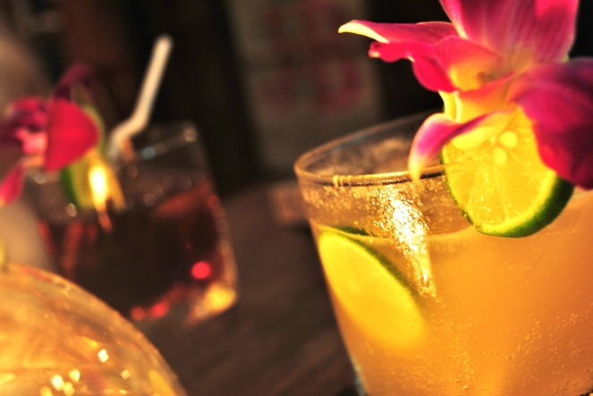 Girly, Tropical Drink