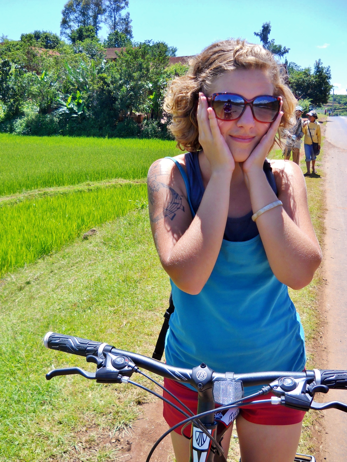 Biking in Madagascar