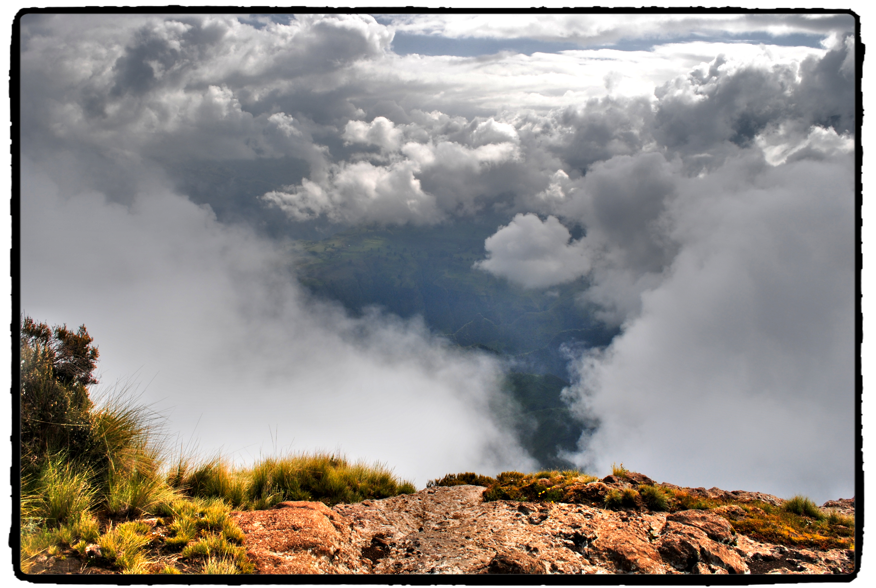 On the Roof of Africa: Trekking in Simien Mountains