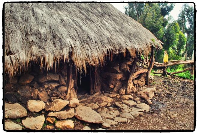 Ethiopian Round Hut Simiens