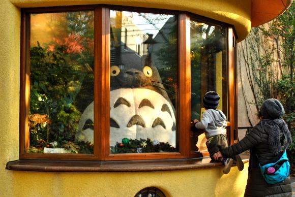 Totoro at Ghibli Museum, Tokyo, Japan