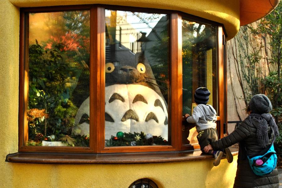 Totoro at Ghibli