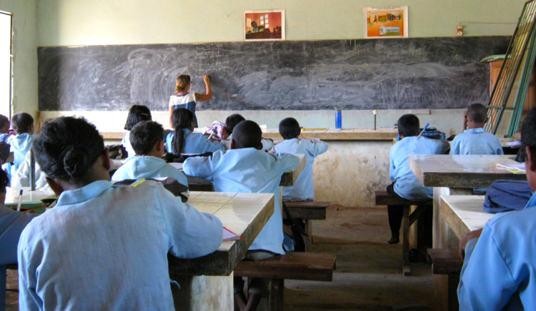 Middle School Students Madagascar