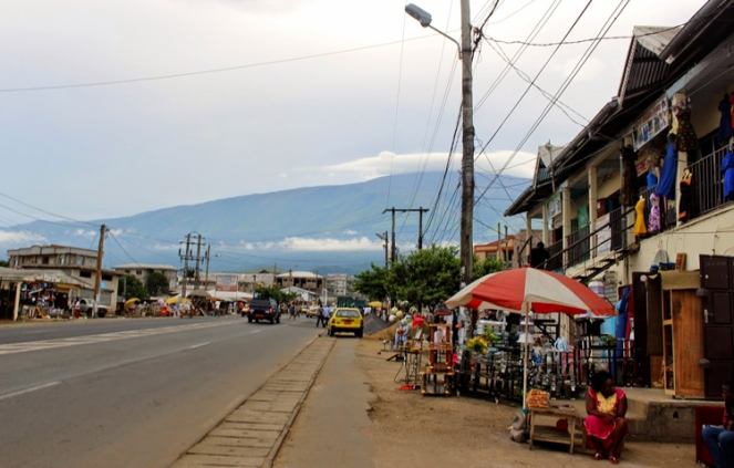 Tallest Mountain in West Africa