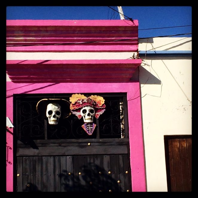 Day of the dead skulls, Oaxaca City